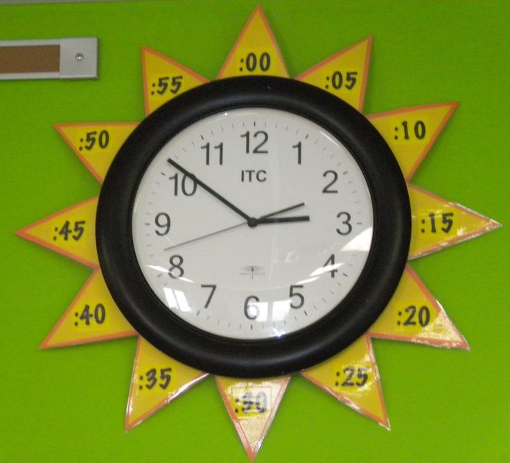 """Learning To Tell Time With A Classroom """"Sun Clock"""" For The ..."""